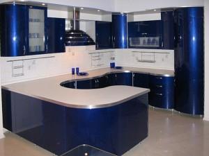Кухня с фасадом Эмаль-002