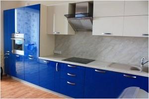 Кухня с фасадом Эмаль-005