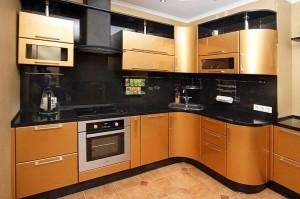 Кухня с фасадом Эмаль-006