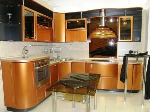 Кухня с фасадом Эмаль-024
