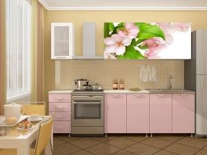 Кухня с фотопечатью-009