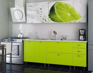 Кухня с фотопечатью-010