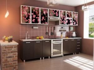 Кухня с фотопечатью-034