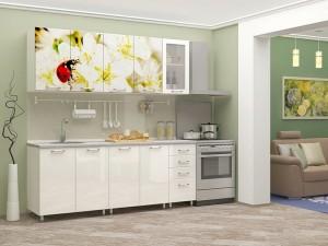 Кухня с фотопечатью-038
