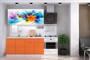 Кухня с фотопечатью-045