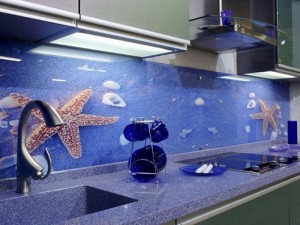 Кухня с фасадом Пластик-064