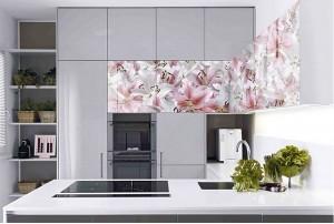 Кухня с фасадом Пластик-085