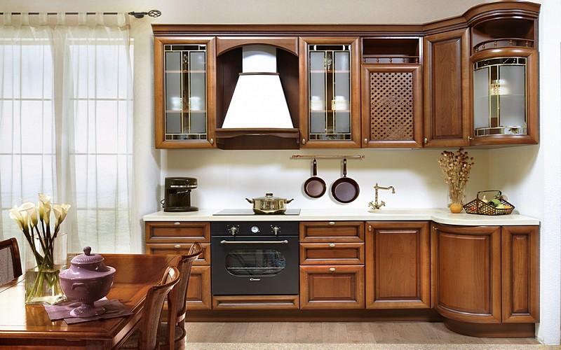 кухни массив